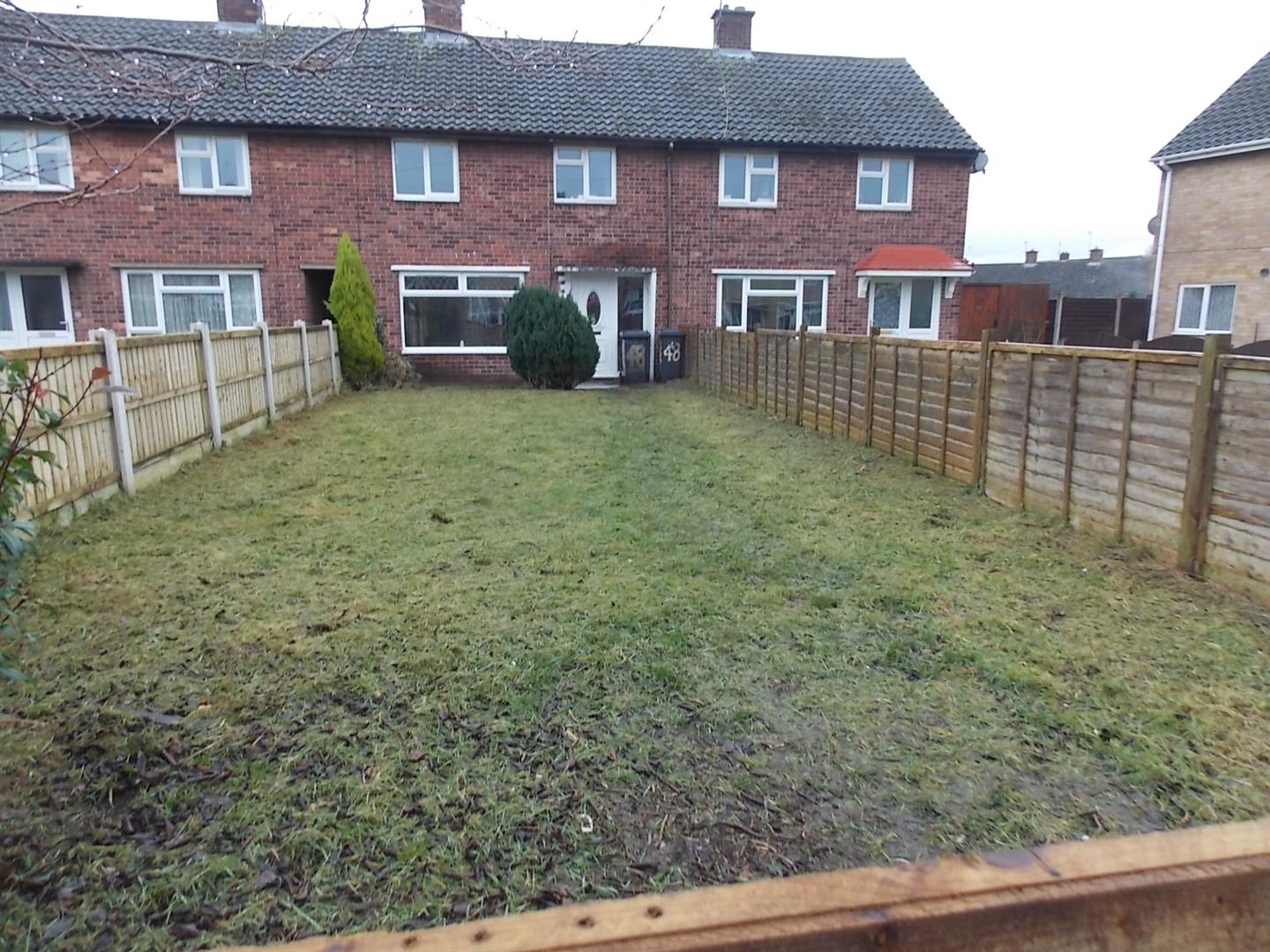 3 Bedrooms Terraced House for sale in Peveril Crescent, Sawley